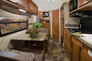 2013 Northern Express 718B, 19' Travel Trailer interior