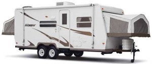 2009 Rockwood Roo 233 Travel Trailer, exterior