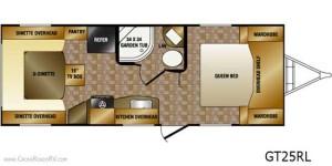 Floorplan 2013 Slingshot GT 25RL