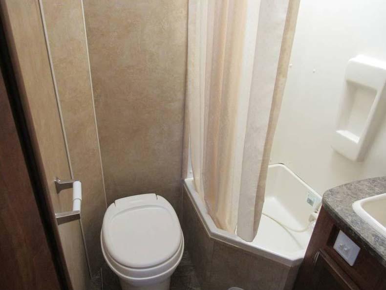 Bathroom 2011 Jayco 19H