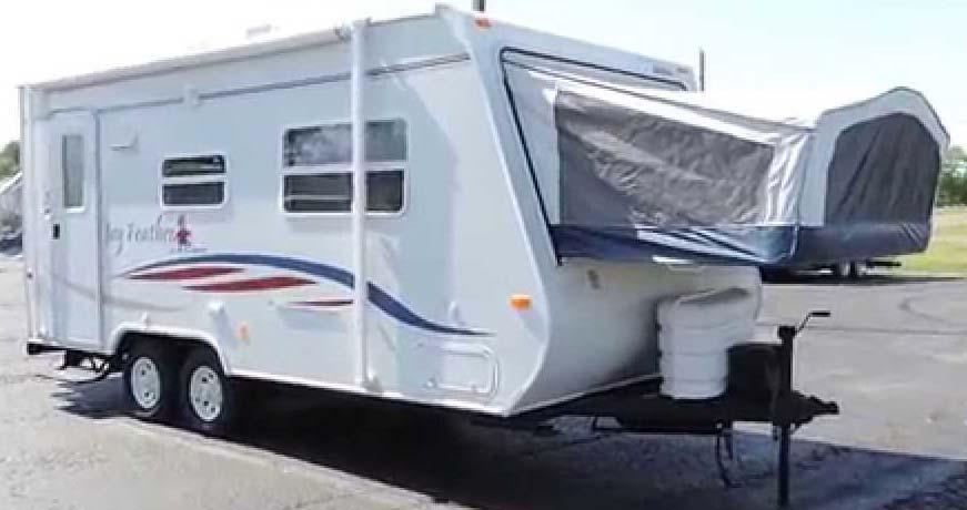 19ft Travel Trailer Sleeps 6 8 Great Blue Heron Rv Rentals Amp Sales Inc