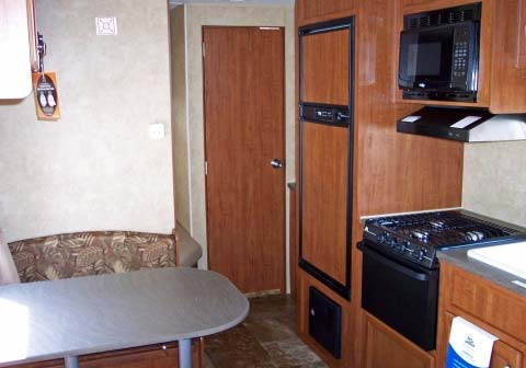 Kitchen Dinette - 2013 Jayco Jay Flight Swift 264 BH