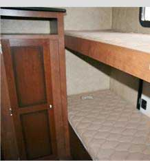 four double bed bunks
