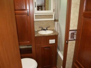 Outback 270BH full bathroom