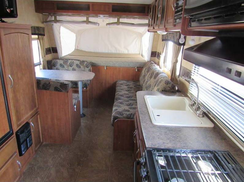 2011 Jayco 19h Hybrid Travel Trailer Great Blue Heron Rv