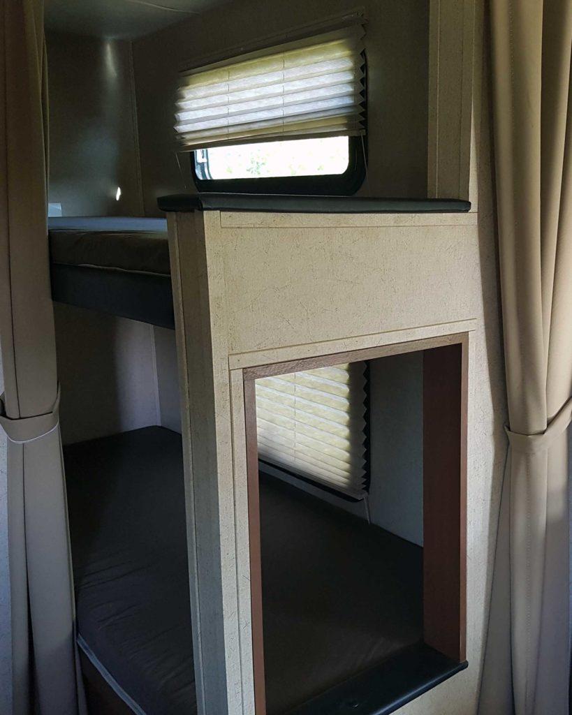 Coachman 236BHS bunks