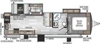 2020 Rockwood 290SW Floorpan